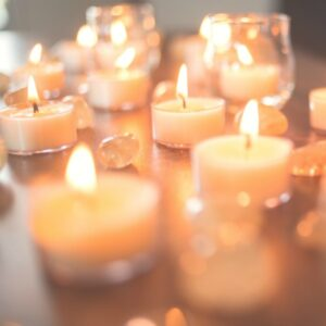 wedding candles tealight